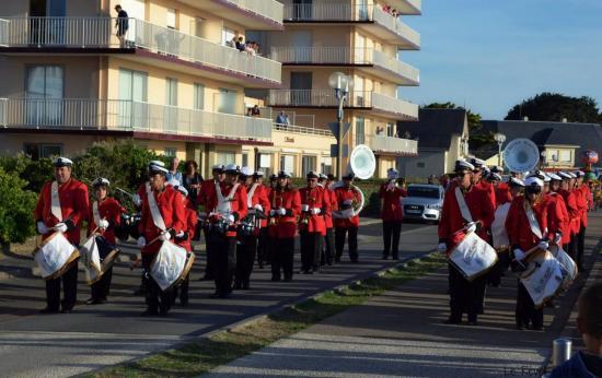 Feu d'artifice Tharon-Plage 13 Juillet 2014