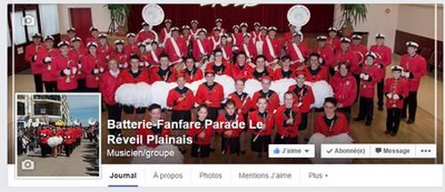 Page Facebook Le Réveil Plainais